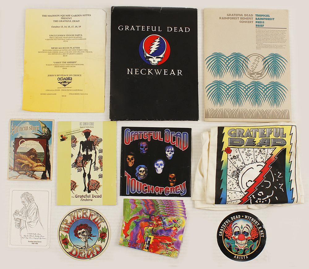 lot detail grateful dead original memorabilia archive. Black Bedroom Furniture Sets. Home Design Ideas