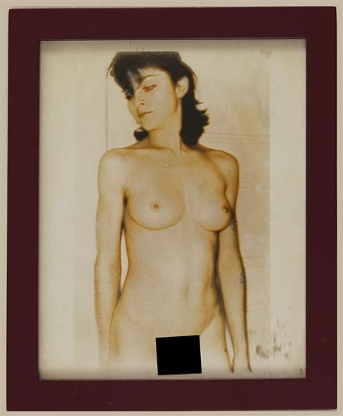 Madonna Nude Photographic Print