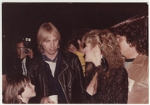 Tom Petty & Stevie Nicks Original Photograph from the Herbert Worthington Estate