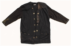 Stevie Nicks Owned & Worn Black Jacket with Buttons