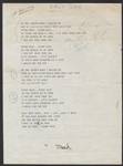 "Stevie Nicks Hand-Annotated ""Stand Back"" Lyrics"