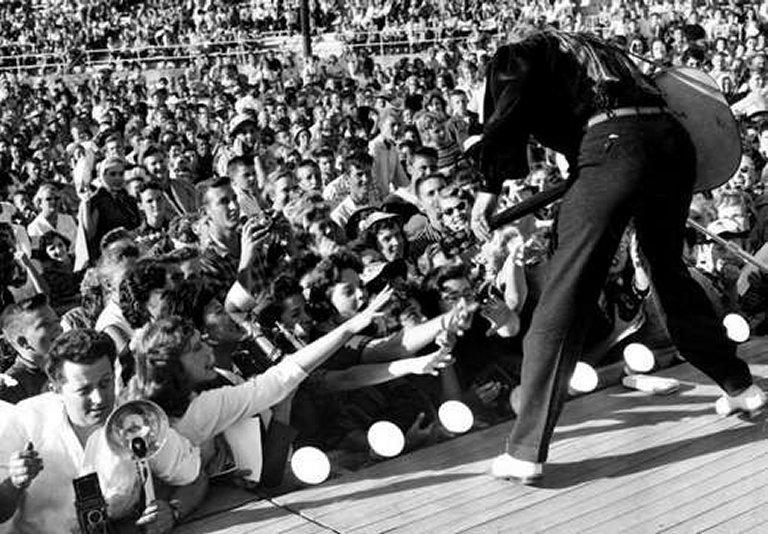 Lot Detail Elvis Presley 1950 S Stage Worn White Buck