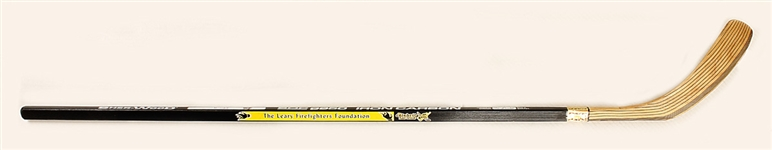 Bobby Orrs Original Game Issued Hockey Stick from the Hockeys Greatest Skate for Americas Bravest Benefit
