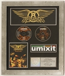 "Aerosmith ""You Gotta Move"" Original RIAA Platinum Concert DVD Award"