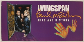 "Paul McCartney Original ""Wingspan: Hits and History"" Original Promotional Posters"