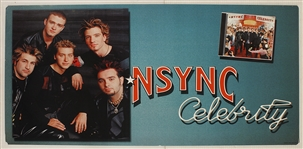 "*NSYNC Original ""Celebrity"" Original Over-Sized Promotional Posters"