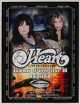 Heart Signed Marina Hotel & Casino On-Site Concert Poster