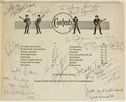 "The Beatles, Their Managers and Tour Entourage 1964 Signed and Inscribed Original ""Quiz Book"""