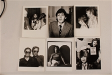 Beatles Original Stamped Photographs