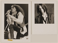 Patti Smith Original Stamped Photographs