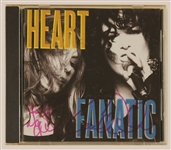 "Heart Signed ""Fanatic"" C.D. Insert"