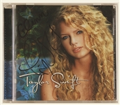 Taylor Swift Signed & Inscribed C.D. Insert