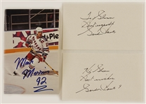 Mark Messier & Gordie Howe Signed Collection