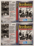 "Beatles Pete Best Signed ""Best of the Beatles - The Greatest Rock N Roll Story Never Told"" DVD Cover Inserts (2)"