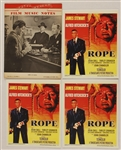 Farley Granger Signed Original Movie Theater Lobby Cards, Signed Posters, Movie Promotions and Music Booklet