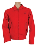Michael Jackson Owned and Worn Red Lacoste Jacket