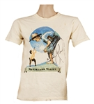 Michael Jackson Signed Neverland Valley T-Shirt