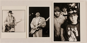 Stevie Ray Vaughan Original Stamped Photographs