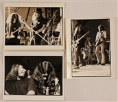 Lynyrd Skynyrd Original Stamped Photographs