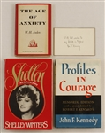 Farley Granger Personal Collection of  Signed & Inscribed Books by W.H. Auden, Shelly Winters and Rose Kennedy