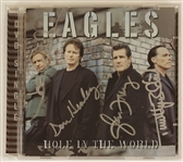 "Eagles Signed ""Hole in the World"" C.D. Insert"
