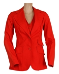 Michael Jackson Owned & Worn Red Jacket and Vest