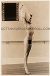 Madonna Never-Before-Seen Earliest Known Nude Photograph, Negative and Copyright