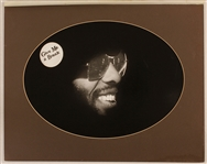 "Sly Stone ""Give Me A Break"" Original Herbert Worthington Stamped Photograph"