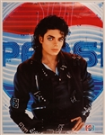 Michael Jackson Signed Pepsi Poster