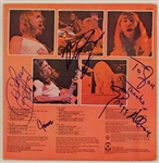 Allman Brothers Signed Self-Titled  Debut Album