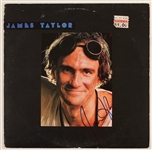 James Taylor Signed Album