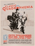 "Pete Townshend ""Classic Quadrophenia"" with Eddie Vedder and Billy Idol Original Concert Poster"