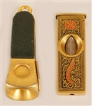 Sammy Davis, Jr. Owned & Used Cigar Cutters (2)