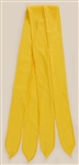 Elvis Presley Owned and Worn Yellow Cravat