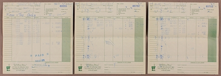"Bruce Springsteen And The E Street Band Original 1974 Holiday Inn Tour Receipts From The ""Born To Run"" Tour"