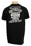 Bruce Springsteen Owned and Worn Southside Johnny and the Asbury Jukes 1977 Tour Shirt