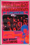 Sly Stone/Parliament/Funkadelic Original Concert Poster