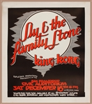 Sly & The Family Stone Original Concert Poster