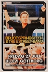 Bruce Springsteen & The E Street Band Original Over-Sized Swedish Concert Poster
