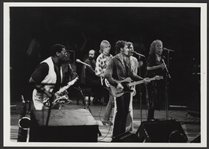 No Nukes Concert: Bruce Springsteen, Tom Petty, Jackson Brown & Rosemary Butler Original Bob Leafe Stamped Photograph