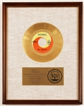 """Yesterday"" Original RIAA White Matte Gold 45 Record Award Presented to The Beatles"