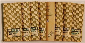 A Set of 8 Original Waiters Books from the Star-Club, Hamburg, Germany