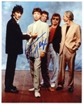 Mick Jagger Signed Rolling Stones Photograph