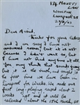 George Harrison 1963 Two-Page Handwritten Letter to Astrid Kirchherr