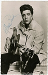 Elvis Presley Signed Original German MGM Photo Postcard