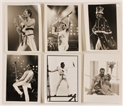 Queen Original Stamped Photographs (25) Featuring Photographers Neal Preston and Simon Fowler
