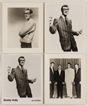 Buddy Holly Original Stamped Promotional Photographs (8)