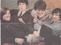 The Kinks Signed Magazine Pictures