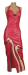 "Nicki Minaj MAC Viva Glam Ad Worn Custom ""Lipstick"" Dress"