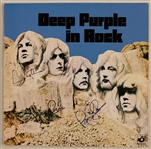 "Deep Purple Signed ""Deep Purple in Rock"" Album"